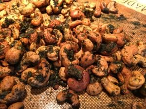 Herbed Cashews
