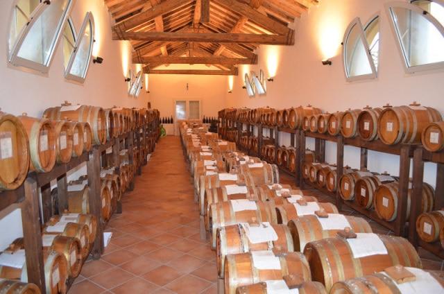 balsamic aging barrels
